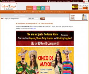 Costumes 4 Less Coupons