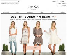Shop Sosie Coupons